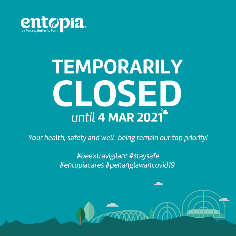 Temporarily Closed until 4th March 2021